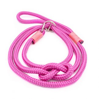 4UniqueDogs - Seil Retrieverleine fuchsia