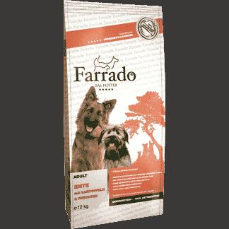 Farrado Ente mit Kartoffel und Früchten