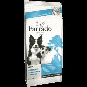 Farrado Forelle mit Kartoffel und Erbsen