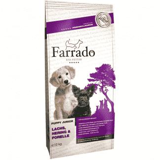 Farrado Puppy/Junior mit Lachs, Hering & Forelle