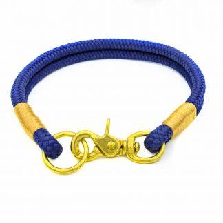 Halsband mit Scherenkarabiner
