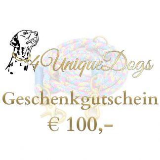 Gutschein im Wert von € 100,-