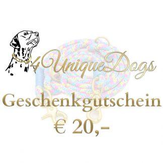 Gutschein im Wert von € 20,-