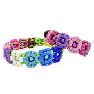 Halsband Flower Power