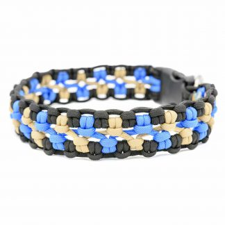 4UniqueDogs Halsband Paracord Johnny