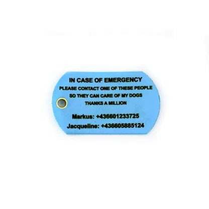 Emergency Schlüsselanhänger