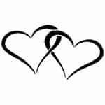 Verschlungene Herzen