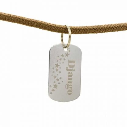 Army ID Tag mit Namen