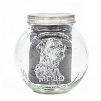 4 Unique Dogs Vorratsglas Mojo