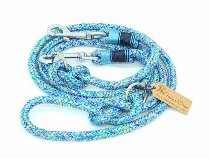 Hundeleine aus PPM-Seil Mermaid