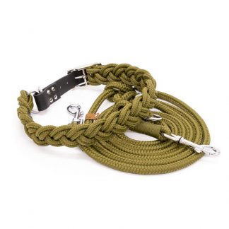 4 Unique Dogs Military Braid Set